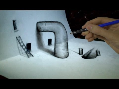 How to draw 3d techniques ep 2 vf
