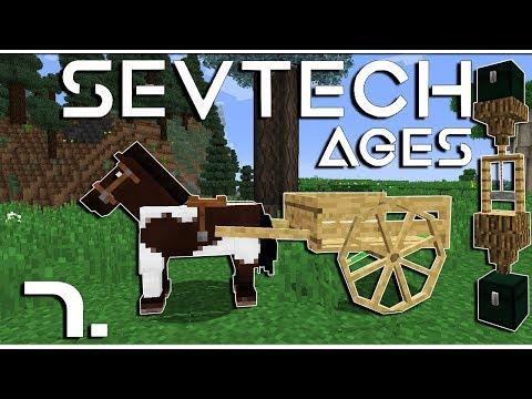 Minecraft - SevTech: Ages - Kezdődjék az igazi automatizálás! - 7.rész letöltés