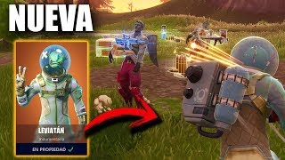 EPIC VICTORY WITH MY BROTHER and THE NEW LEGENDARY SKIN *LEVIATON* FORTNITE: Battle Royale