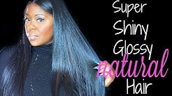 5 tips: How to get SUPER shiny, glossy hair (silicone based conditioners)