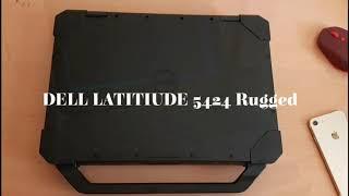DELL LATITUDE 5424 Rugged (Laptop Perang Anti Lindes)