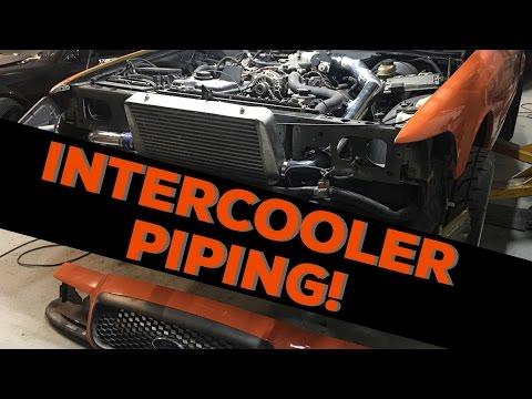 Pt.4   Haggard Garage Challenge   Intercooler piping!