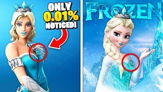 Top 10 Fortnite Skins INSPIRED From REAL MOVIES! (Frozen 2 & More)
