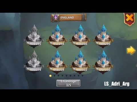 Castle Clash, TOP 5, 470k/530k FTP