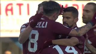 Il gol di Iago Falque (10') - SPAL - Torino 2-2 - Giornata 18 - Serie A TIM 2017/18