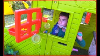 New house for Nikita* Funny video for kids with Makar