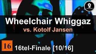 Gambar cover TNM S1 | WHEELCHAIR WHIGGAZ vs. Kotolf Jansen | 16tel-Finale #10 (prod. by Ingo Invalido)