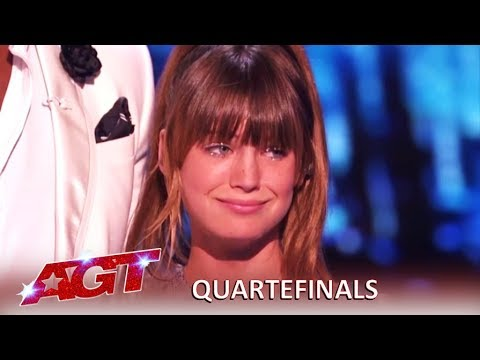 Charlotte Summers: 14-Year-Old KILLS James Bonds Theme Song! | America's Got Talent 2019