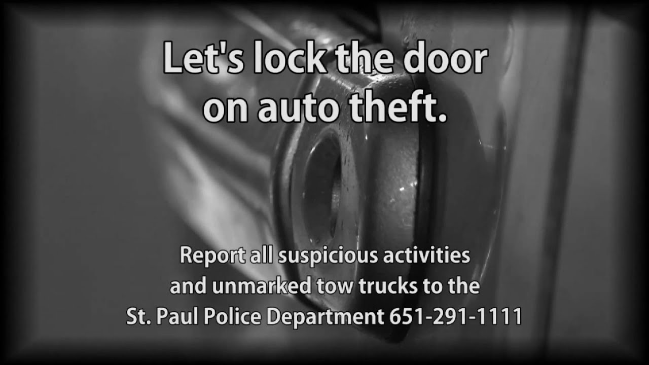 Auto Theft Unit   Saint Paul, Minnesota