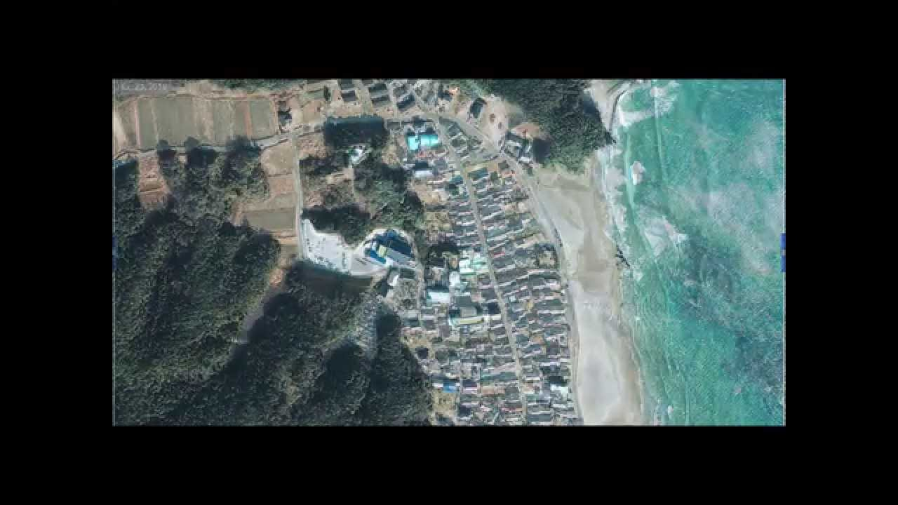 Japan Earthquake Tsunami Satellite Images Before And After - Japan map via satellite