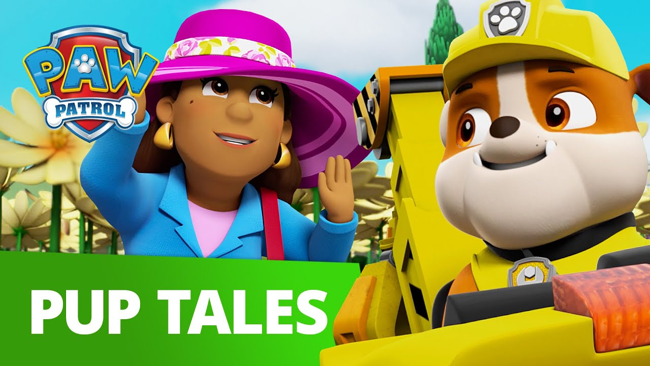 PAW Patrol | Pups Save The Mayor's Statue! | Rescue Episode | PAW Patrol Official & Friends!