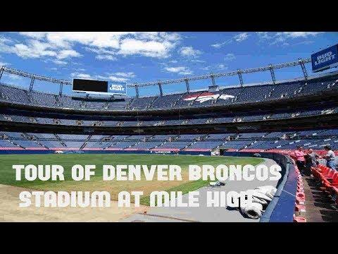 Tour of the Denver Broncos Stadium at Mile High