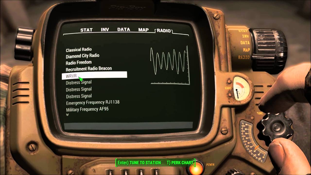 WRVR Radio Station - Fallout 4 mod demo