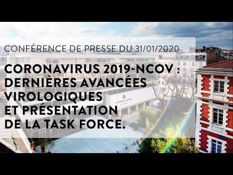 Coronavirus 2019-nCoV: dernières avancées virologiques et présentation de la Task Force