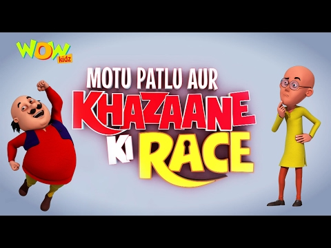 Motu Patlu Aur Khazaane Ki Race | Movie |...