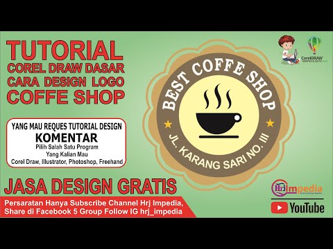 tutorial-corel-draw-2019-dasar-bahasa-indonesia-cara-membuat-design-logo-coffe-shop---belajar-corel