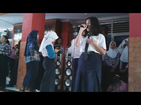 Lomba classmeeting karaoke kelas 9F SMP N 7 Semarang