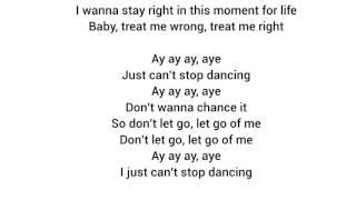 Becky g just can't stop dancin lyrics ...