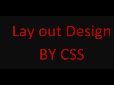 CSS Layout in Bangla Tutorial 2019 thumbnail