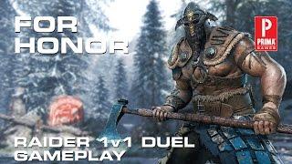 for honor raider 1v1 duel beta gameplay