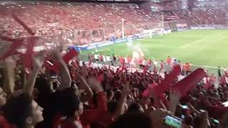 Recibimiento Independiente vs Flamengo - Final copa sudamericana