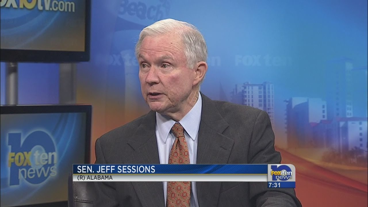 Jeff Sessions interview - YouTube
