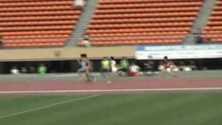 2010年 関東インカレ 男子1部 4×100mR 決勝