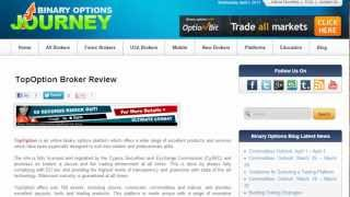 TopOptions Broker   Binary Options   85% Payout at Top Options