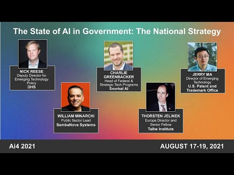 The State of AI in Government: The National Strategy