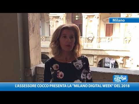 "L'assessore Cocco presenta la ""Milano Digital Week"" del 2018"