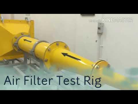 Air Filter Test Rig