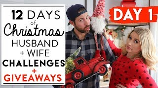 DAY 1: CHRISTMAS DECORATING CHALLENGE + GIVEAWAYS   12 Days of Christmas Challenges