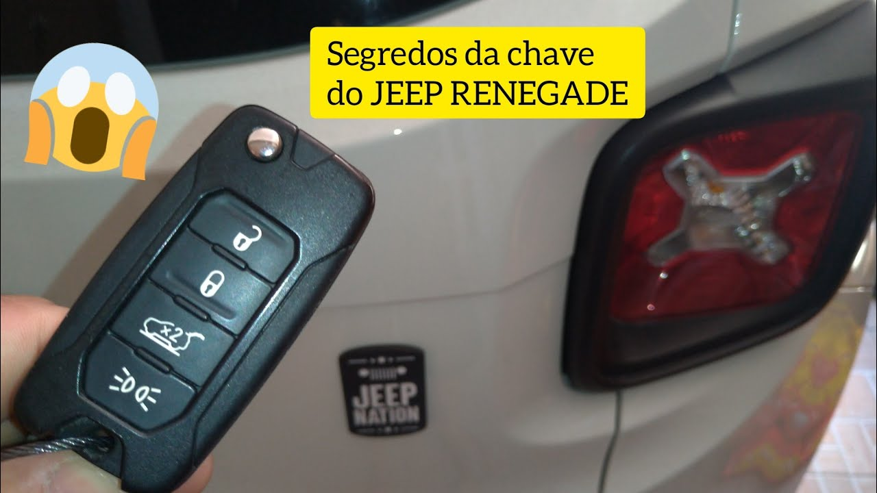 Jeep Renegade Como Funciona A Chave Multi Funcao Youtube