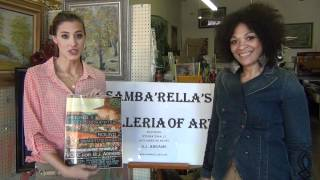 "Jessica Serfaty & Angela Burt- Walmart ""Get On The Shelf"" Supports B.J. Abrams of SamBaRella's ART"