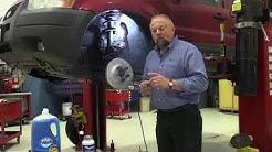 Brake Job Tools: Conical Washers