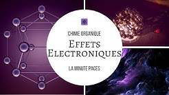 [Chimie O] - Effets électroniques