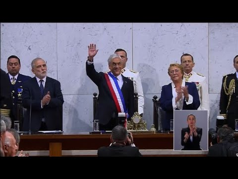 Piñera swon in as president of Chile (3)