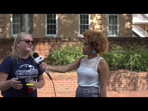 Charlotte Protest Reactions from USC Students | SGTV News 4