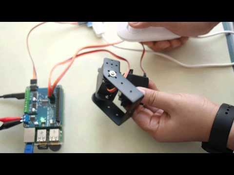 Diy Your Robot Raspberry Pi 2 Model B Control Servo