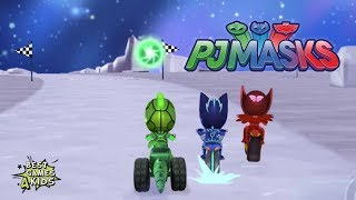 Race to the finish with the PJ Masks! | PJ Masks: Racing Heroes By Entertainment One