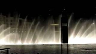 Dubai Mall Water Fountain - Shik Shak Shok