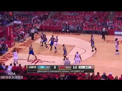 Golden State Warriors vs Houston Rockets - Full Highlights | Game 4 | May 25, 2015 | NBA Playoffs
