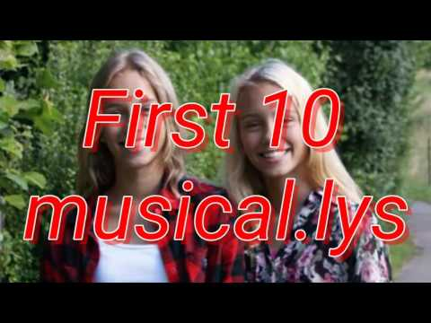 Lisa and Lena's first and last 10 musical.lys | LeLiblondes