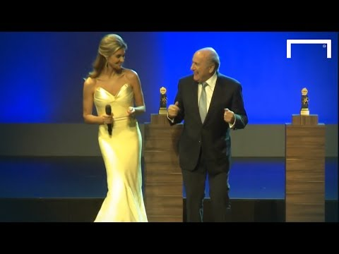 Awkward Dancing - Sepp Blatter Style
