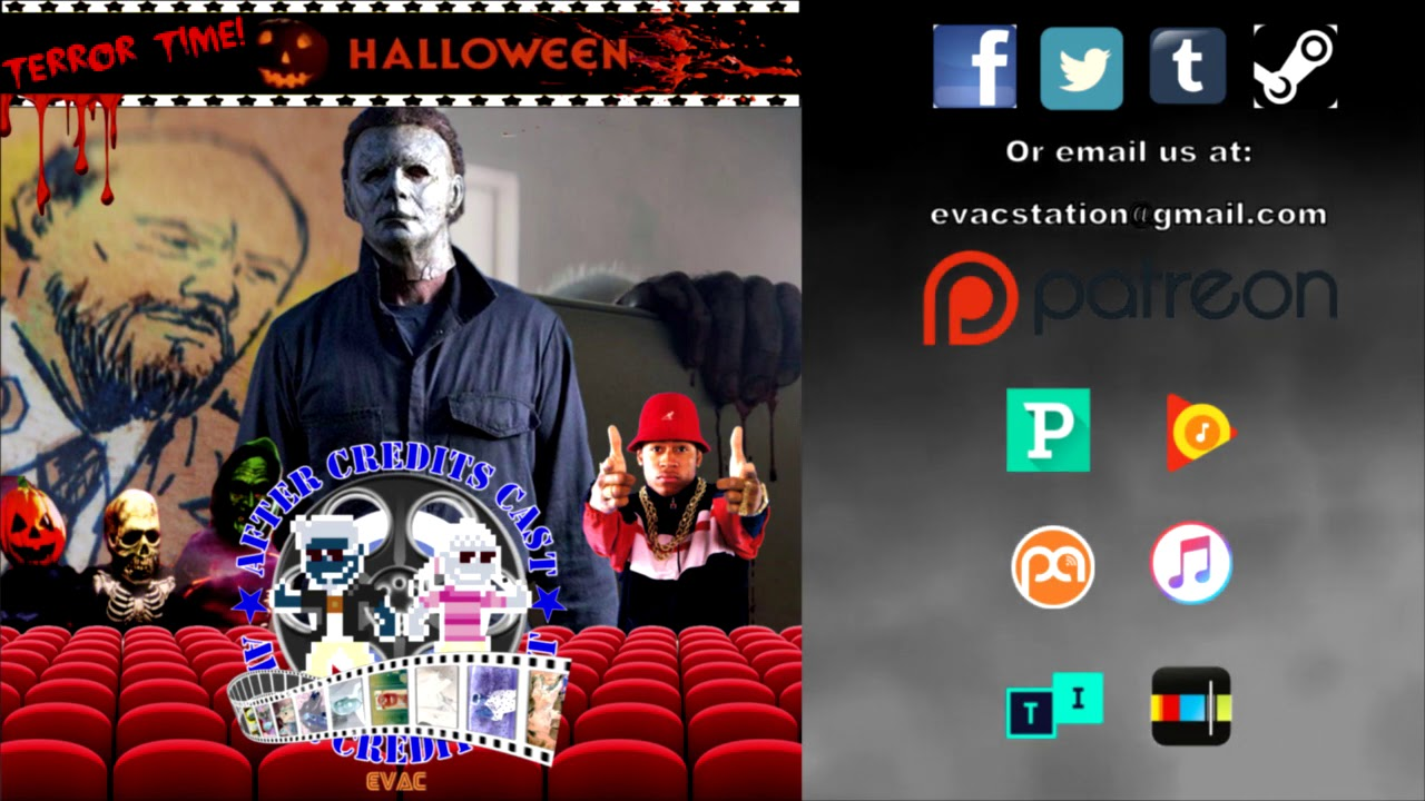 Credita After Halloween 2020 After Credits Cast | Halloween w/ Robbie Nelson | Terror Time I