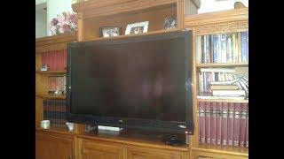 Installing a 42 inch flat TV in a small bookshelf