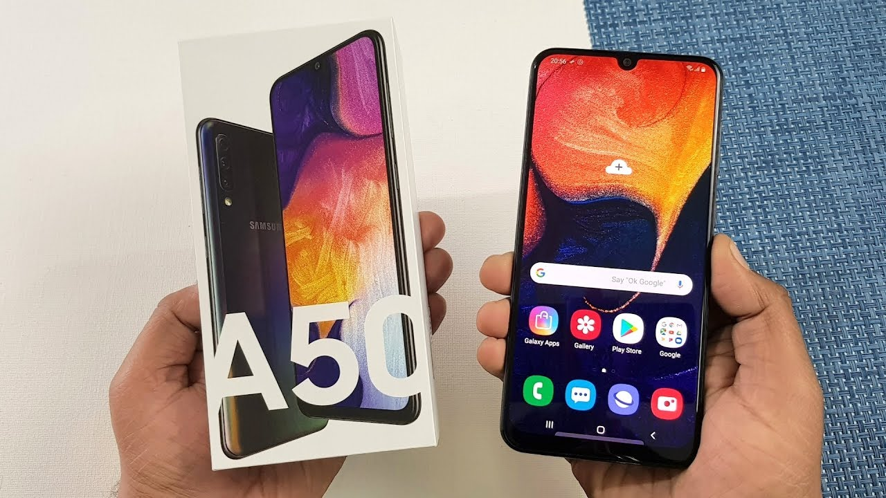 Samsung Galaxy A50 Unboxing & Full Review - YouTube