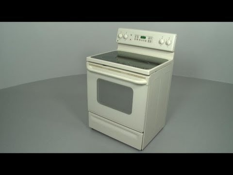 GE Electric Range/Stove/Oven Disassembly
