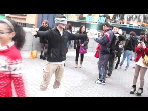 Blind trust social experiment || Osaka, Japan. I trust you,