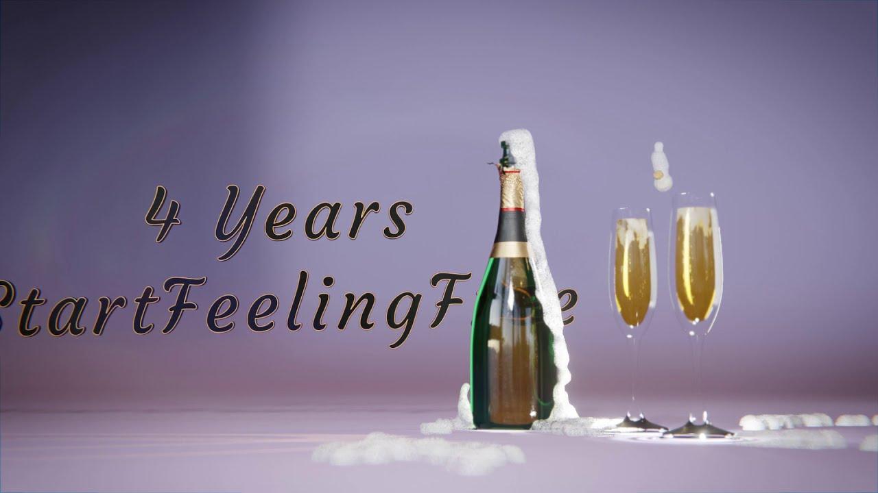 "Happy 4th Birthday ""StartFeelingFree"""